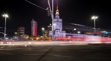 Pałac Kultury nocą - Warszawa