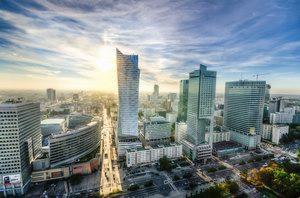 Warszawa wieżowce